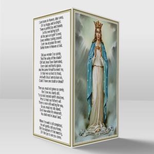 Our lady of Knock card