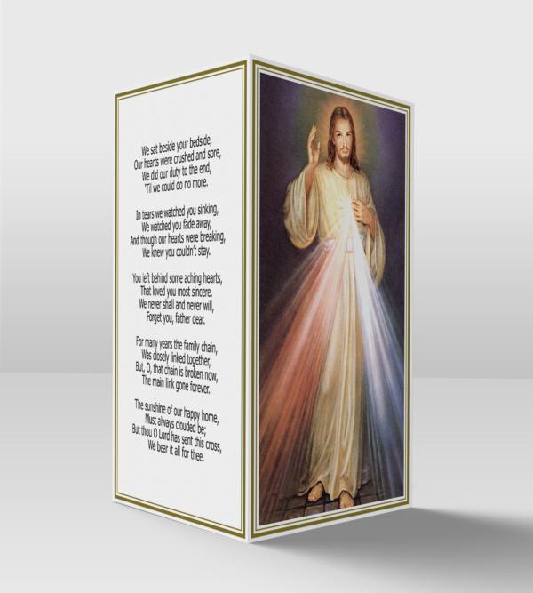 Divine mercy card