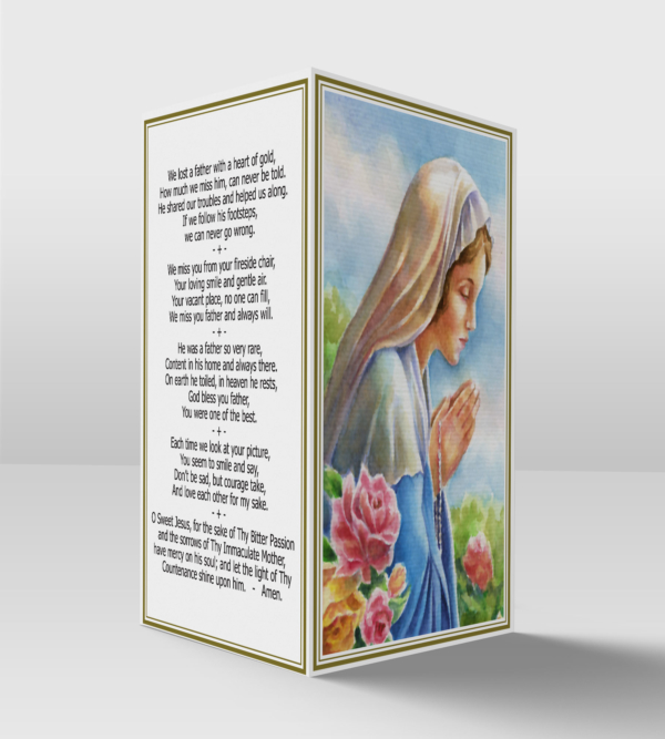 Our lady card