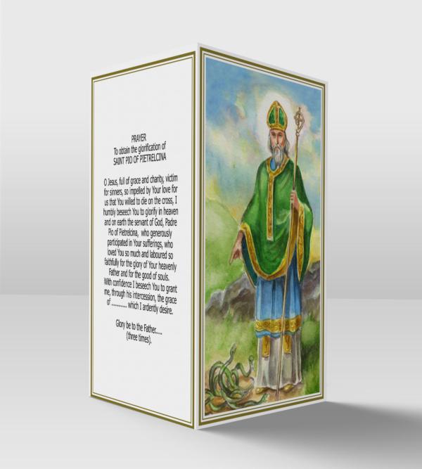 Saint Patrick card