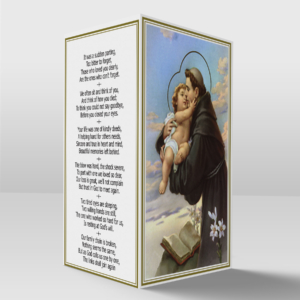 Saint Anthony card