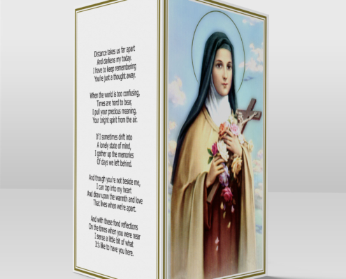 Saint Therese card