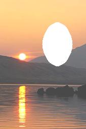 Sunset Momento Card