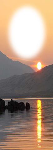 Scottish Sunset Bookmark
